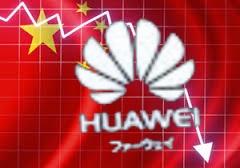 *中国ファーウェイ売上が1兆3000億も減少
