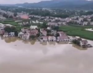 *中国で歴史的水害 緊急避難は6500万人以上?