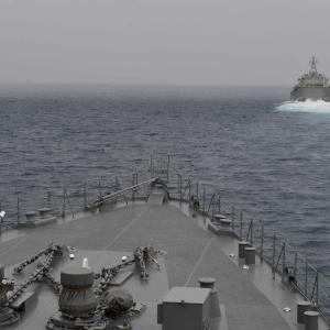 海上自衛隊とインド海軍 米海軍などの共同訓練