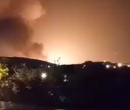 ☆イランで軍事施設が大爆発