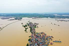 三峡ダム警戒水位3.5m超え 更に大陸最大の淡水湖鄱陽でも洪水