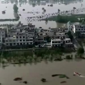 〇中国水害地域が北上か 北京なども浸水