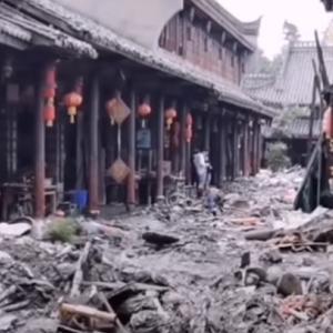 中国大洪水 四川省の希土類企業など大損害