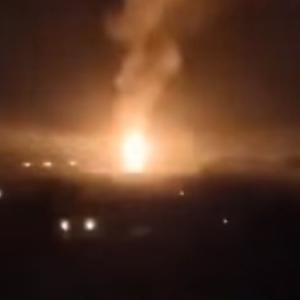 北京近郊で大爆発発生!