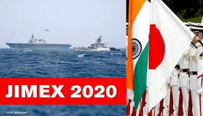 ☆海上自衛隊とインド海軍との共同訓練JIMEX2020