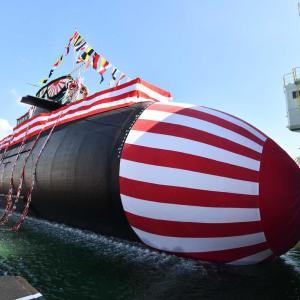 ☆最新型潜水艦 たいげい進水 新型魚雷