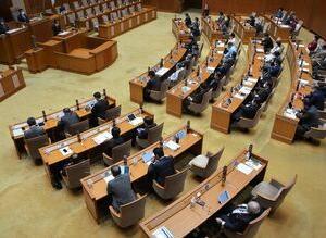 沖縄県議会 尖閣問題で全会一致で中国に抗議