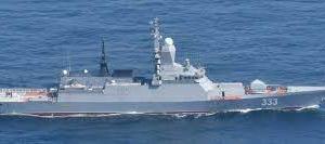 ロシア艦隊の動向と 海自とフランス海軍との共同訓練