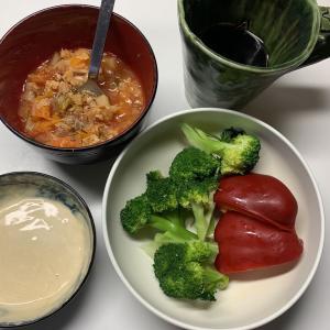 脂肪燃焼スープで目標△3キロ