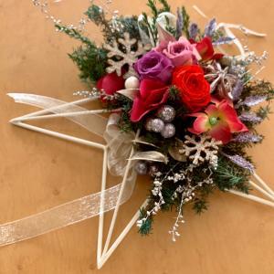 クリスマス、迎春のお花を手作りで彩ろう♬♬