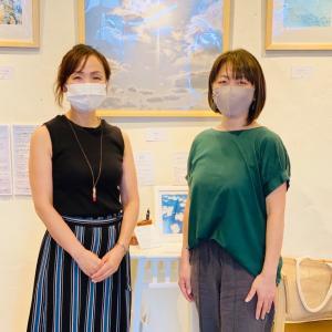 宮古島の透き通った写真に癒されたー!写真家まこさんの個展にお邪魔してきました!