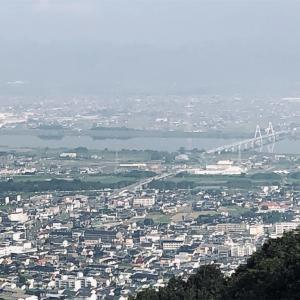 眉山からの眺め(徳島県徳島市八万町東山)
