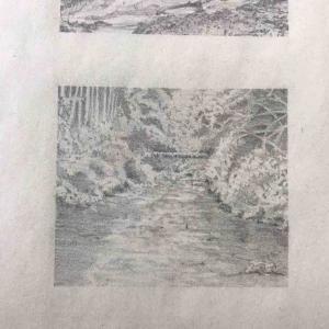 河を描いてみる
