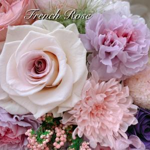 プリザーブドフラワーのお供え花