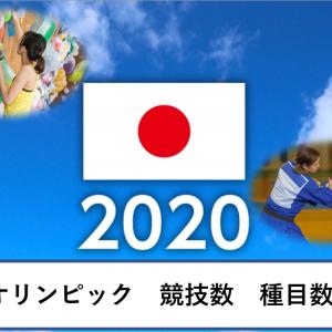 オリンピック競技数・種目数|2020年は何競技?過去40年の推移も!