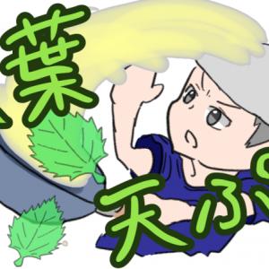 【大葉の天ぷら】サクサクな揚げ方とは?コツは片面に衣・油の温度・揚げ時間!
