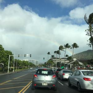 ハワイの綺麗な景色に慣れてしまった。