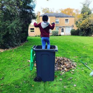 庭掃除に見る息子の成長