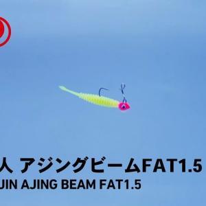 【水中動画】アジングビームFAT1.5