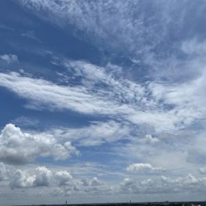 【思いっきり夢を描いて予祝しよう♪】Today's Sky