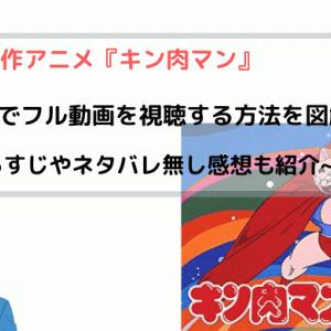 アニメ『キン肉マン』無料でフル動画を視聴する方法を図解!~キン肉マンII世も見れる~