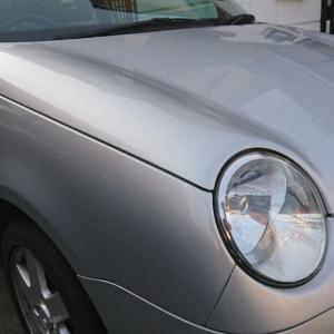 VW lupo フェンダーウインカー交換