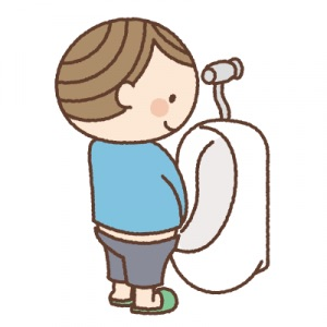 【男の子がトイレを汚さずにおしっこするコツ】