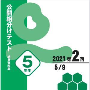 【最終結果】四谷大塚 YT組分けテスト 小5 5月