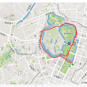本日の東京マラソン2021への道