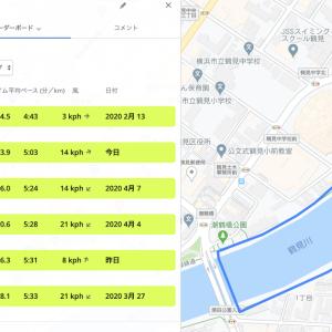 一昨日の練習 〜 東京マラソン2021への道・その27