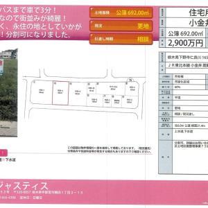 宇都宮の不動産ブログ 下野市仁良川区画整理地
