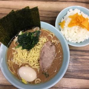 横浜家系らーめん「武源家」は白飯がよく似合う