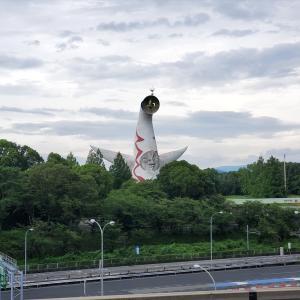 【大阪】太陽の塔は駅からすぐ見える
