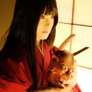 【コスプレ】吉水和夢さんの鬼子コスその2