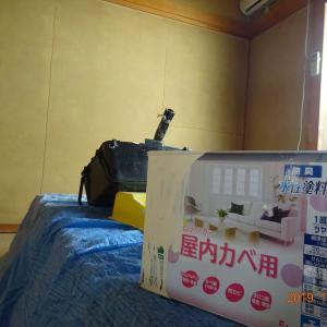 アパートのDIYゲストハウス化③~ペンキ塗り~