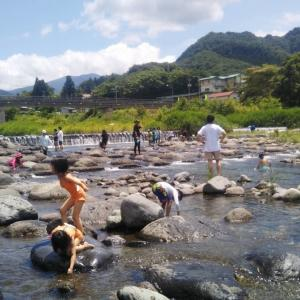 ✅日曜なのでパパの日〜川遊び〜