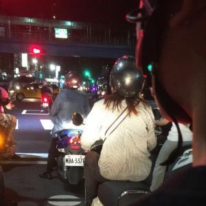 バイクで台北をぐるぐる