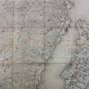 【WEB】昔の地図を見て都市の変化を妄想してみた