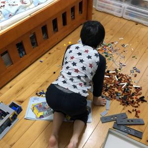 【発達障害グレーゾーン】過集中は子どもの個性?長所?寝食忘れてレゴに没頭!