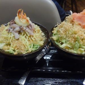 小岩の もんじゃは別腹で夕食!美味しい&安いから色々食べられて大満足♪