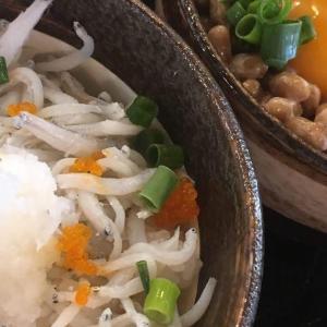 海鮮丼を食べたくなって有楽町 魚○本店でご当地二種丼