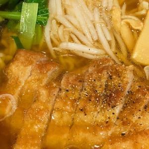 万世麺店 有楽町店 で 排骨拉麺(パイコーラーメン)