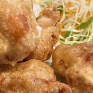 鶴見市場 町中華の百鶴源で唐揚げ定食