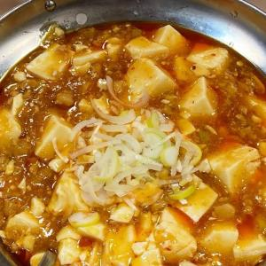 鶴見市場 中華一番屋 で 麻婆豆腐定食