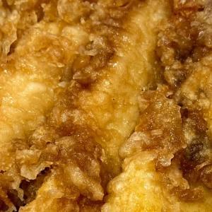 おうちごはん 川崎 やまよし で 海老イカ天丼