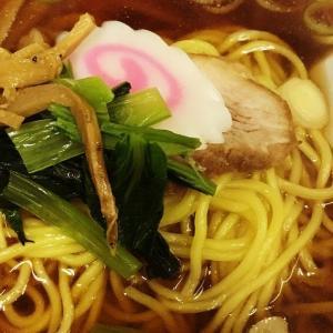 新橋 中華三陽でラーメンと餃子。
