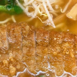 たまの出勤日は美味いもの食べに。万世麺店で排骨拉麺(パーコーラーメン)