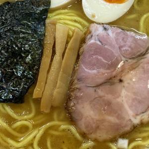 ダブルスープが恋しくなって麺屋いし川で味玉ら〜麺