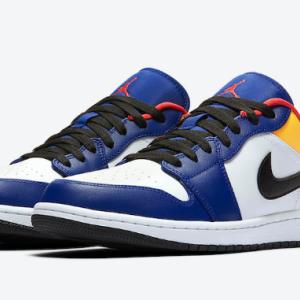 """【2020年 近日発売予定】Nike AIR JORDAN 1 LOW """"BRIGHT POPS OF COLORS"""""""
