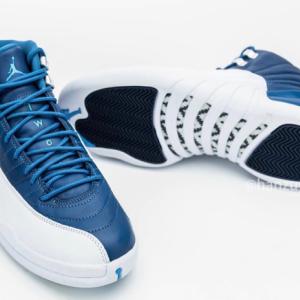 """【2020年8月8日(土) 発売予定】Nike Air Jordan 12 Retro """"Stone Blue"""""""